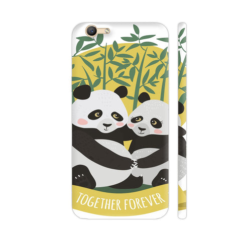 Panda Couples Vivo Y55L Cover | Artist: Astha