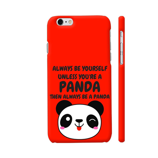 Panda Love On Red iPhone 6 / 6s Cover | Artist: Malls