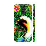 Paradise Bird Fire Feathers Samsung On8 2018 Cover | Artist: BluedarkArt