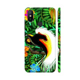 Paradise Bird Fire Feathers Xiaomi Mi A2 Cover | Artist: BluedarkArt