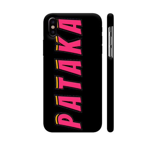 Pataka iPhone X Cover | Artist: Malls