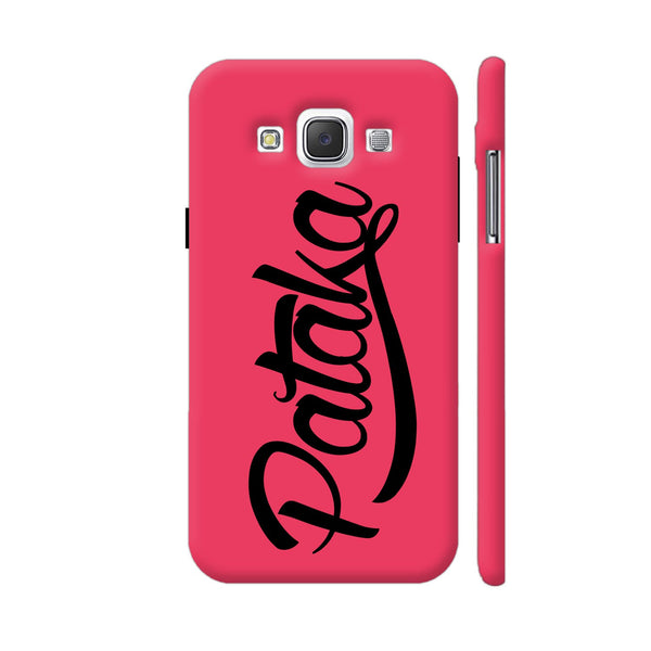 Pataka On Pink Samsung Galaxy E5 Case