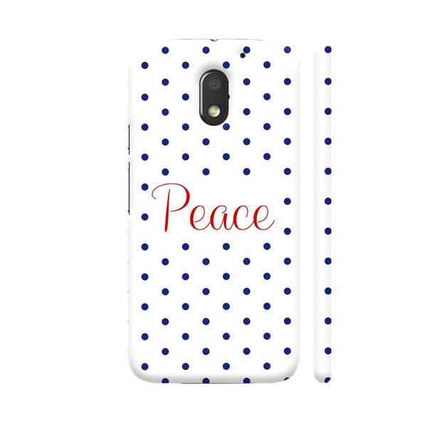 Peace Motorola Moto E3 / Moto E3 Power Case