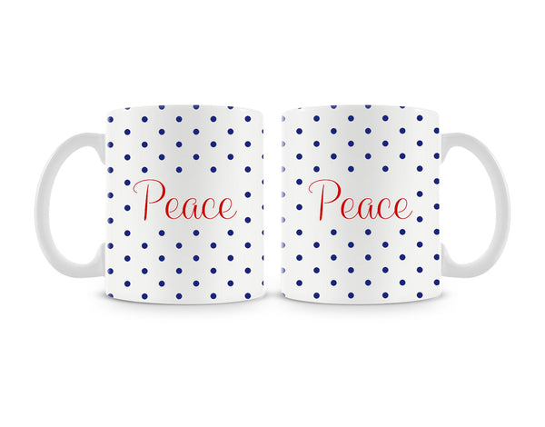 Peace Mug (Set of 2)