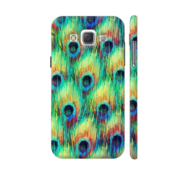 Peacock Feathers Samsung Galaxy E5 Case