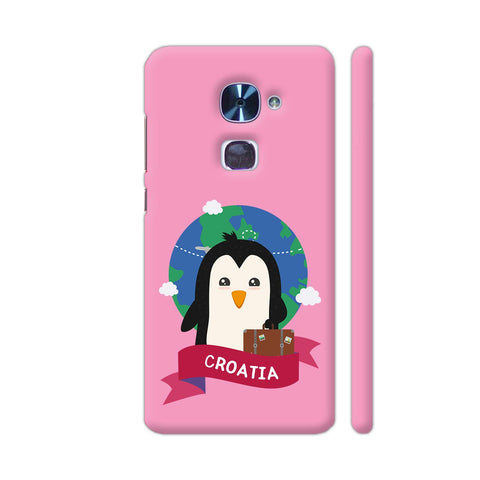 Penguin Globetrotter From Croatia LeEco Le 2 Cover | Artist: Torben
