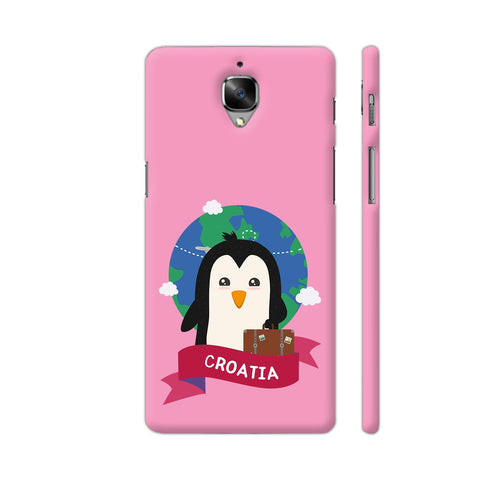Penguin Globetrotter From Croatia OnePlus 3 Cover | Artist: Torben