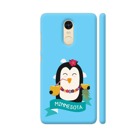 Penguin Hawaii From Minnesota Redmi Note 4 Cover | Artist: Torben