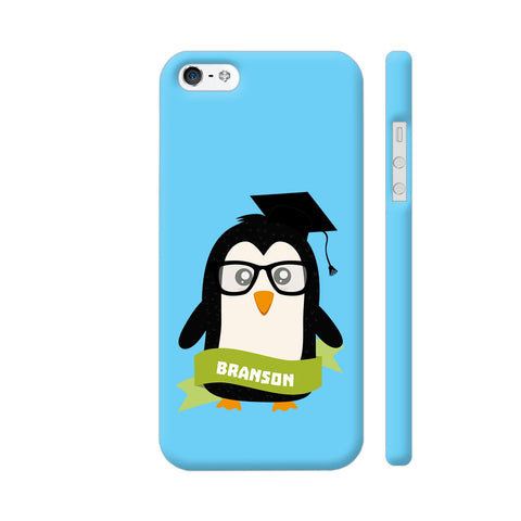 Penguin Nerd From Branson iPhone 5 / 5s Cover | Artist: Torben