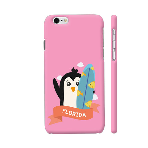 Penguin Surfer From Florida iPhone 6 Plus / 6s Plus Cover | Artist: Torben