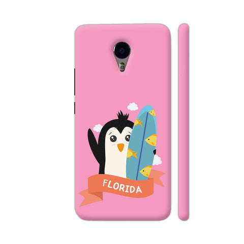 Penguin Surfer From Florida YU Yunicorn Cover | Artist: Torben