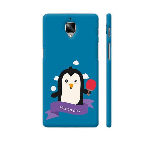 Penguin Table Tennis From Mexico City OnePlus 3 Cover | Artist: Torben