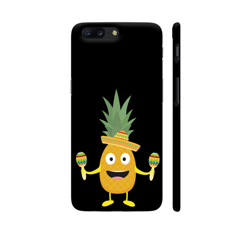 Pineapple Fiesta Sombrero Party OnePlus 5 Cover | Artist: Torben