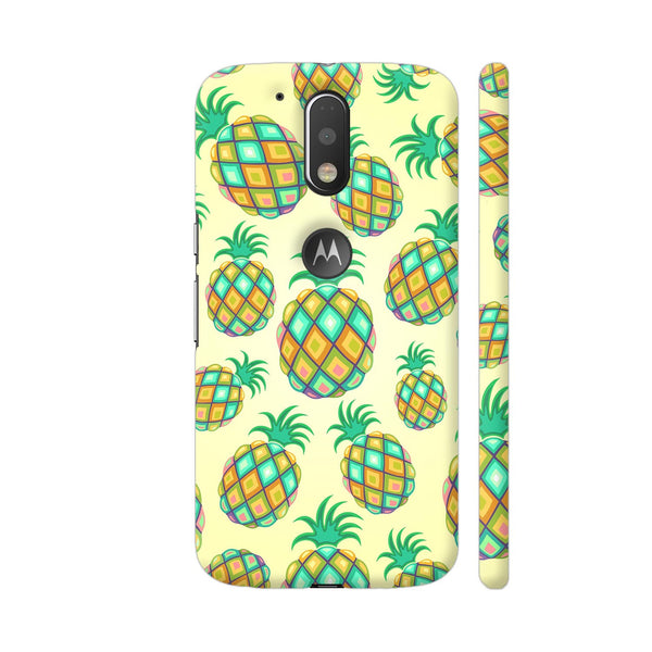 Pineapple Pastel Colors Pattern Moto G4 / Moto G4 Plus Cover | Artist: BluedarkArt
