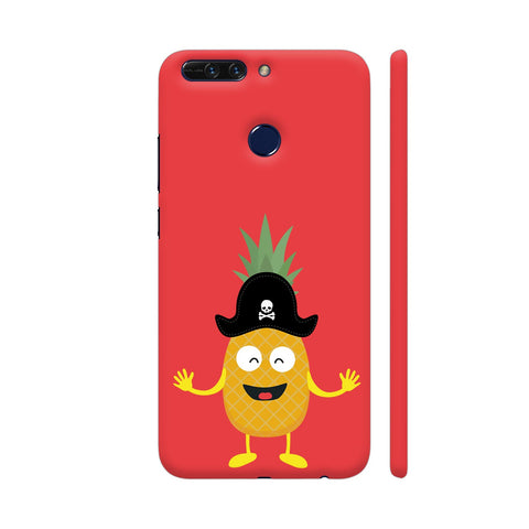 Pineapple Pirate With Hat Honor 8 Pro Cover | Artist: Torben