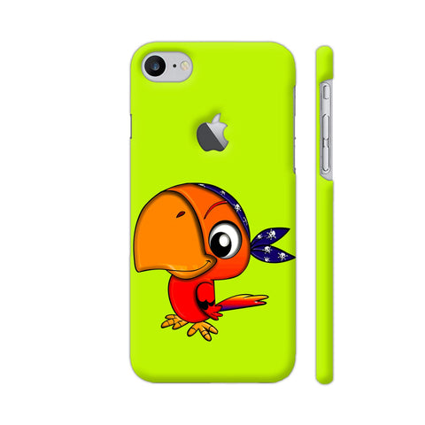 Pirate Parrot iPhone 7 Logo Cut Cover | Artist: Ashish Singh