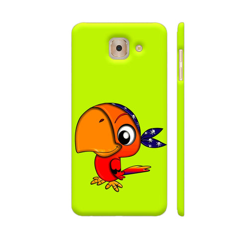 Pirate Parrot Samsung J7 Max Cover | Artist: Ashish Singh
