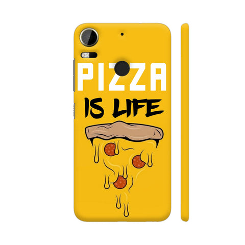 Pizza Is Life HTC Desire 10 Pro Cover | Artist: Nilesh Gupta
