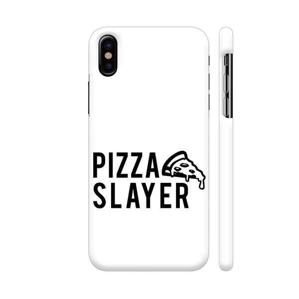 Pizza Slayer iPhone X Cover | Artist: CaptainQuirk