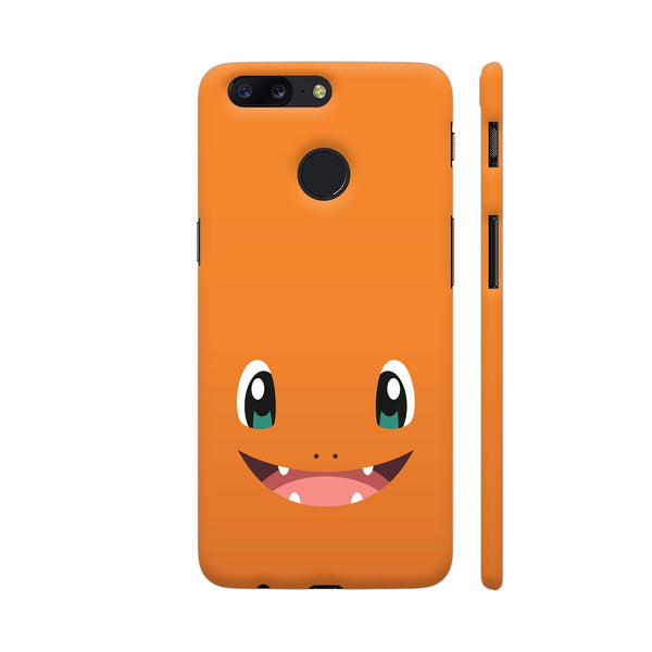 Pokemon Charmander On Orange OnePlus 5T Cover | Artist: Neeja Shah