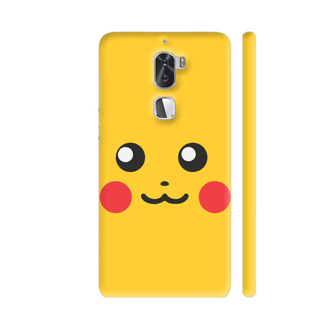 Pokemon Go Pikachu On Yellow Coolpad Cool 1 / Cool1 Dual Cover | Artist: Manik Chawla