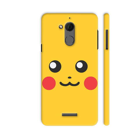 Pokemon Go Pikachu On Yellow Coolpad Note 5 Cover | Artist: Manik Chawla