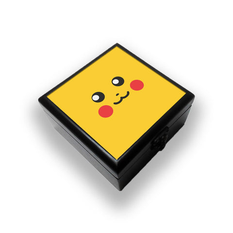 Pokemon Go Pikachu On Yellow Jewellery Box