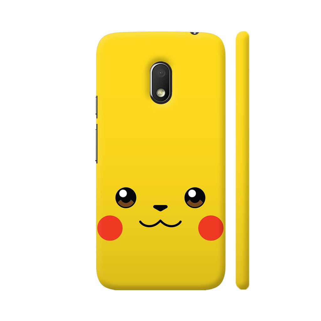 differently 62c1e 2cf92 Pokemon Pikachu On Yellow Moto G4 Play Cover | Artist: Neeja Shah