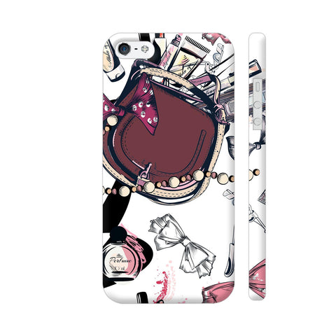 Purse Makeup iPhone SE Cover | Artist: Astha