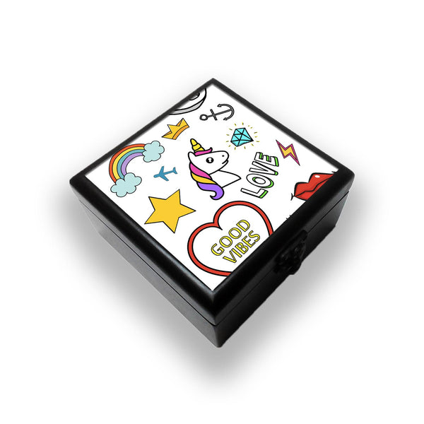 Quirky Patches Jewellery Box