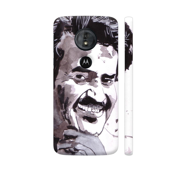 Rajinikanth Moto G6 Play Cover | Artist: HeartAtArt
