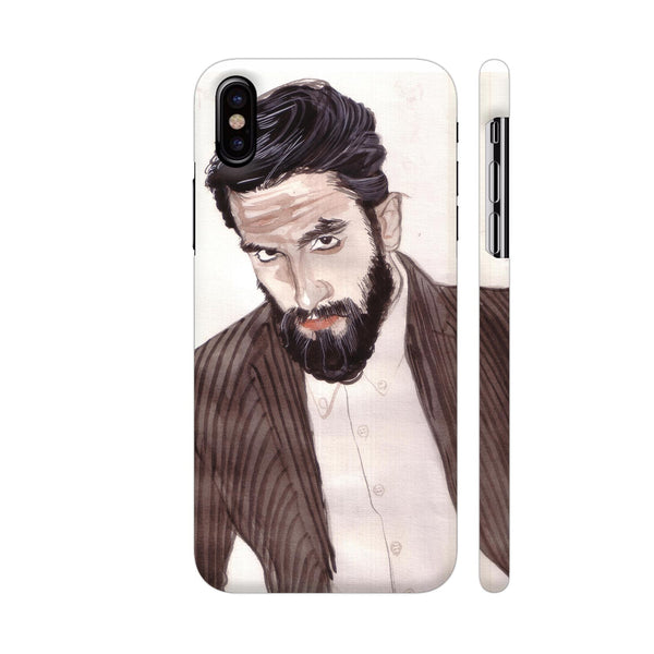Ranveer Singh 4 iPhone X Cover | Artist: HeartAtArt