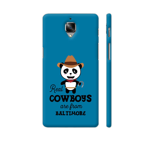 Real Cowboys Are From Baltimore OnePlus 3 Cover | Artist: Torben