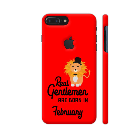 Real Gentlemen Are Born In February 3 iPhone 7 Plus Logo Cut Cover | Artist: Torben