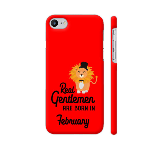 Real Gentlemen Are Born In February 3 iPhone 7 Cover | Artist: Torben