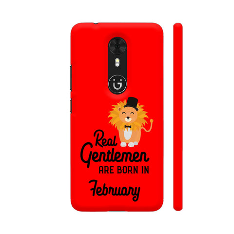 Real Gentlemen Are Born In February 3 Gionee A1 Cover | Artist: Torben