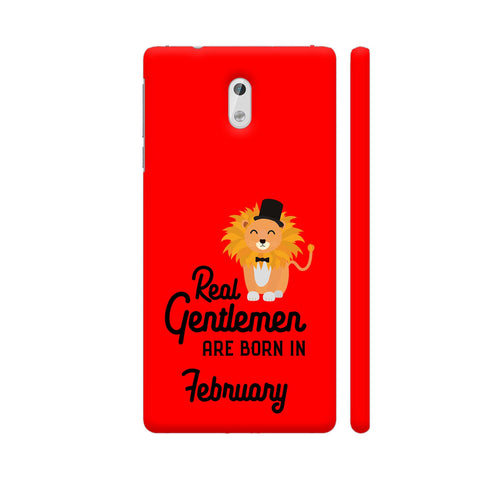 Real Gentlemen Are Born In February 3 Nokia 3 Cover | Artist: Torben