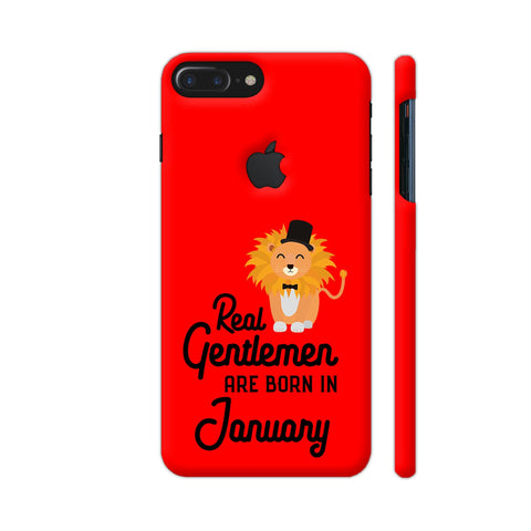 Real Gentlemen Are Born In January 3 iPhone 7 Plus Logo Cut Cover | Artist: Torben