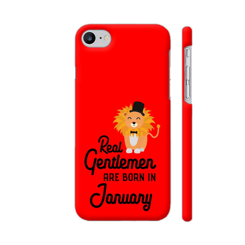 Real Gentlemen Are Born In January 3 iPhone 7 Cover | Artist: Torben