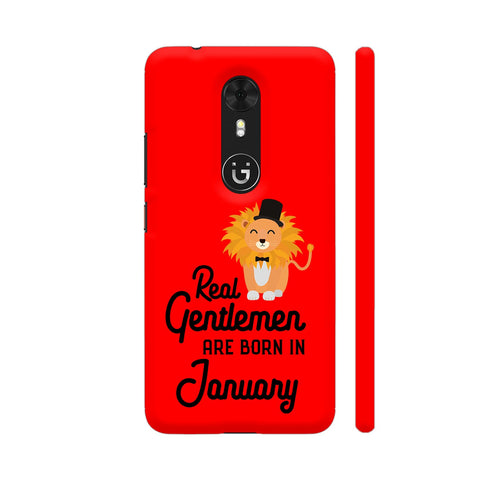 Real Gentlemen Are Born In January 3 Gionee A1 Cover | Artist: Torben