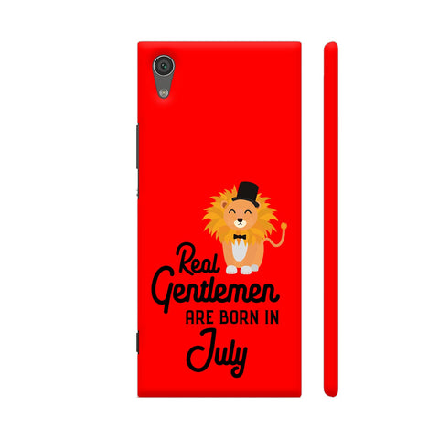 Real Gentlemen Are Born In July 3 Xperia XA1 Cover | Artist: Torben