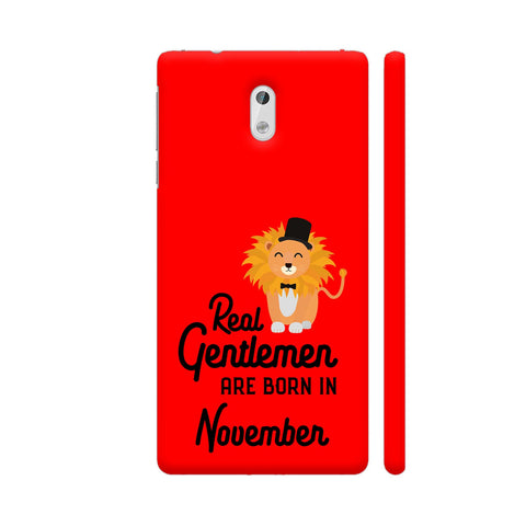Real Gentlemen Are Born In November 3 Nokia 3 Cover | Artist: Torben