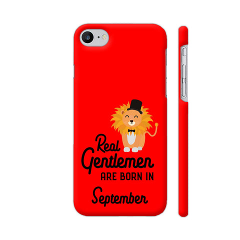 Real Gentlemen Are Born In September 3 iPhone 7 Cover | Artist: Torben