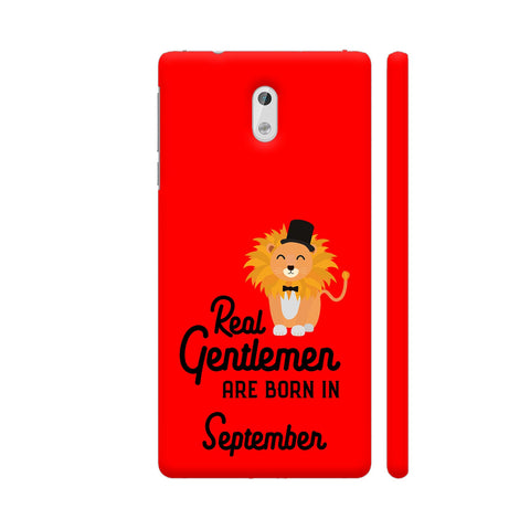 Real Gentlemen Are Born In September 3 Nokia 3 Cover | Artist: Torben