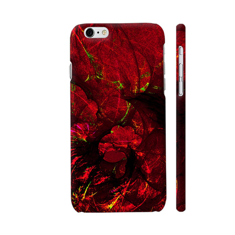 Red Art iPhone 6 / 6s Cover | Artist: Jen28nart