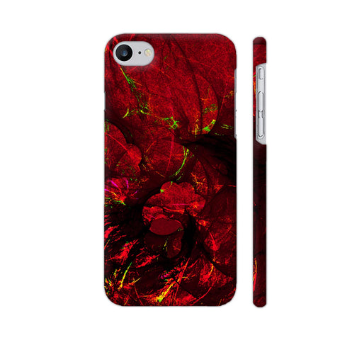 Red Art iPhone 7 Cover | Artist: Jen28nart