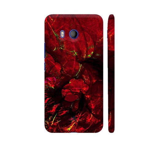 Red Art HTC U11 Cover | Artist: Jen28nart