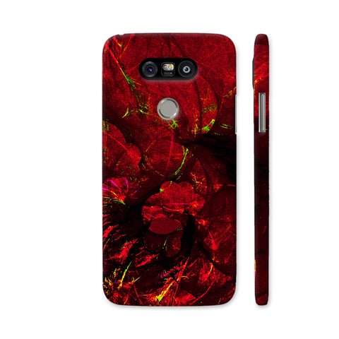 Red Art LG G5 Cover | Artist: Jen28nart