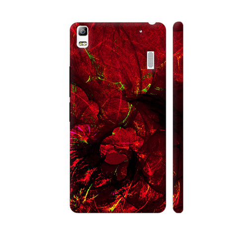 Red Art Lenovo K3 Note Cover | Artist: Jen28nart