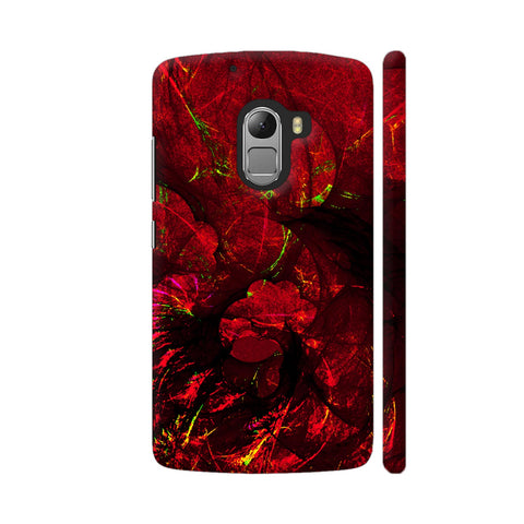 Red Art Lenovo K4 Note Cover | Artist: Jen28nart